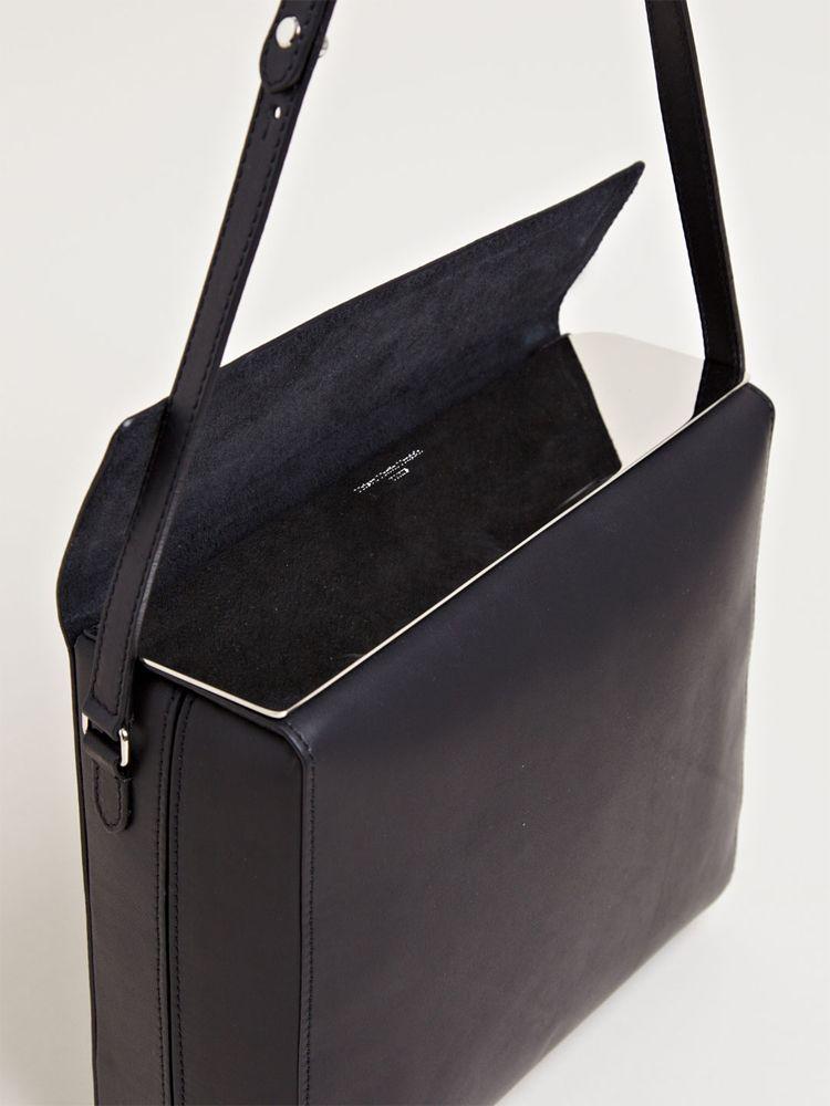 Hand Carry Minimal Bag in White Calf Maison Martin Margiela Vy9gx