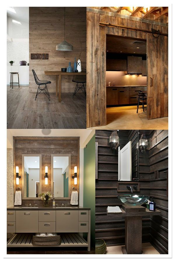 wood wall, mur bois, pared madera add on Pinterest Wood walls - pared de madera