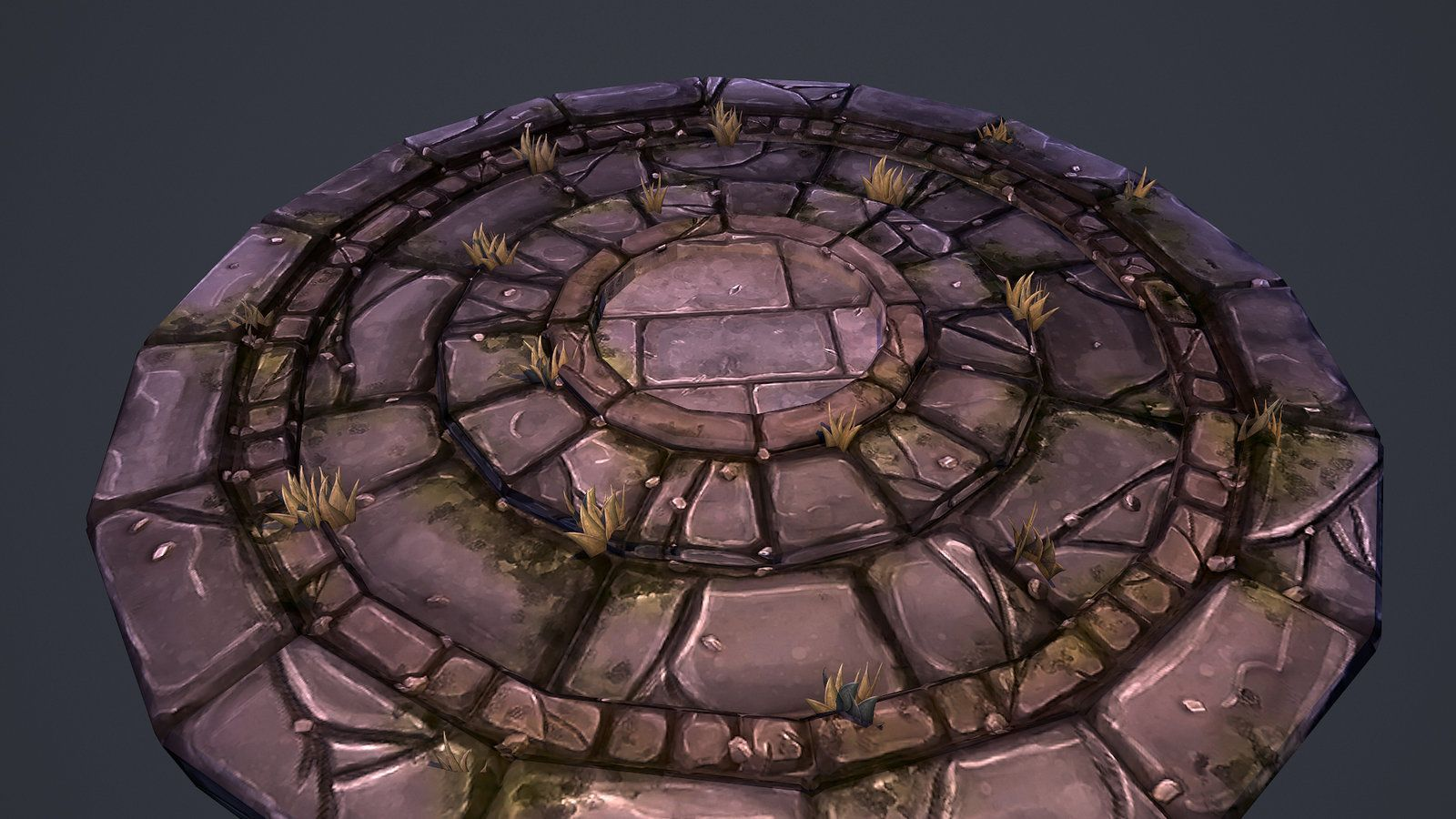 Stylized Stone Floor Tobias Koepp On Artstation At Http