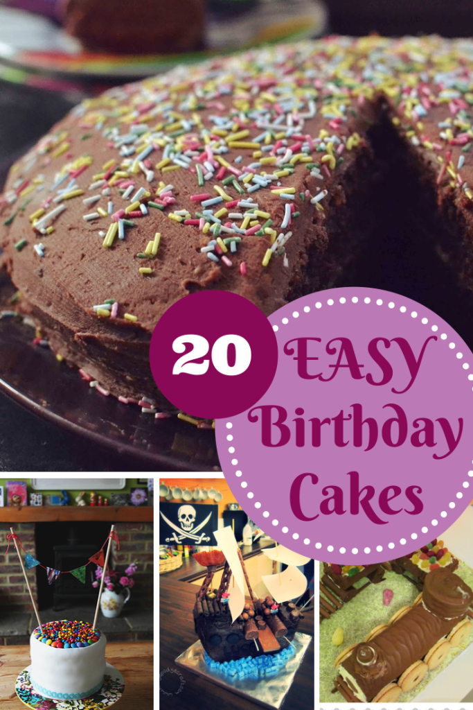 Easy Birthday Cake Recipes Easy birthday cake recipes Birthday