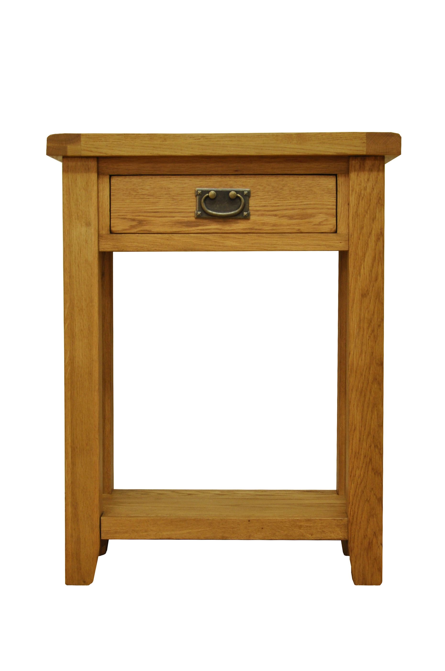 Staffordshire Oak Telephone Table A Stunning Range Finished In Traditional Rugger Brown Wax For That Rustic Look