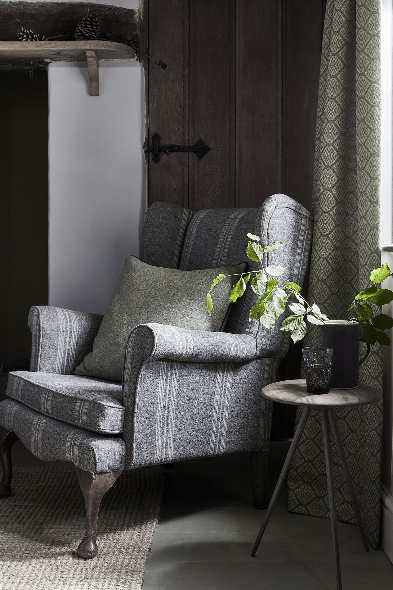 Subtle, Luxurious And Sophisticated, Our Ashfield Wool Collection Looks  Splendid On Curtains, Arm