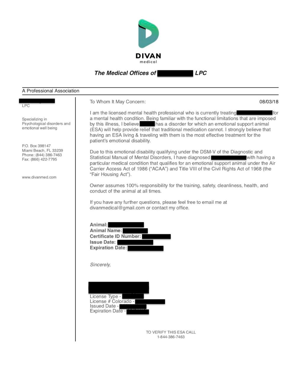 Mooshme Is My ESA Letter Legitimate? ESA Letter Online