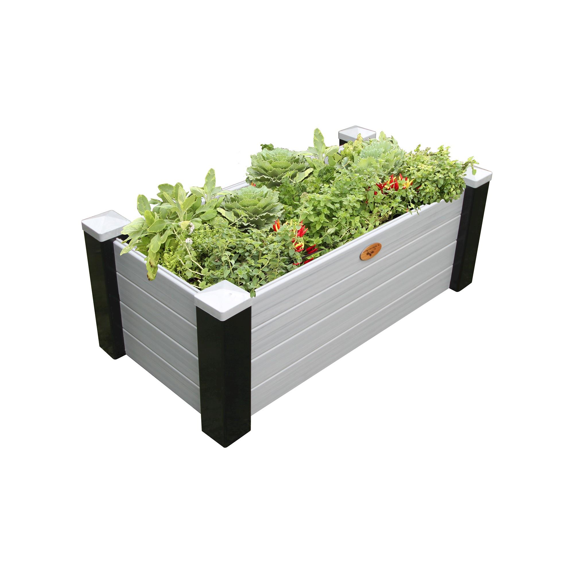 wood garden country bed raised com gronomics walmart ip cedar