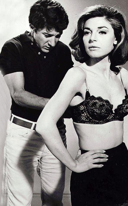 Dustin Hoffman & Anne Bancroft- The Graduate (1967)