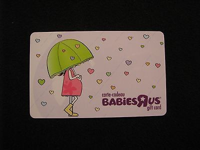 Babies r us woman umbrella gift card collectible no value used babies r us woman umbrella gift card collectible no value used for usd1 easter basketsgift negle Images