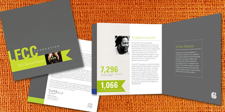 Annual Report Template Design. Corporate Annual Report Template