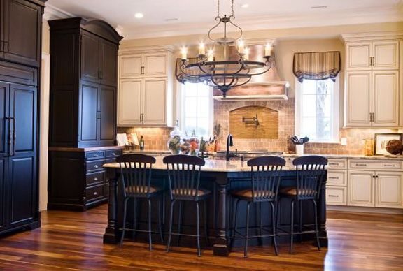 Off White Kitchen Black Appliances off white kitchen black appliances kitchens antique kitchensblack