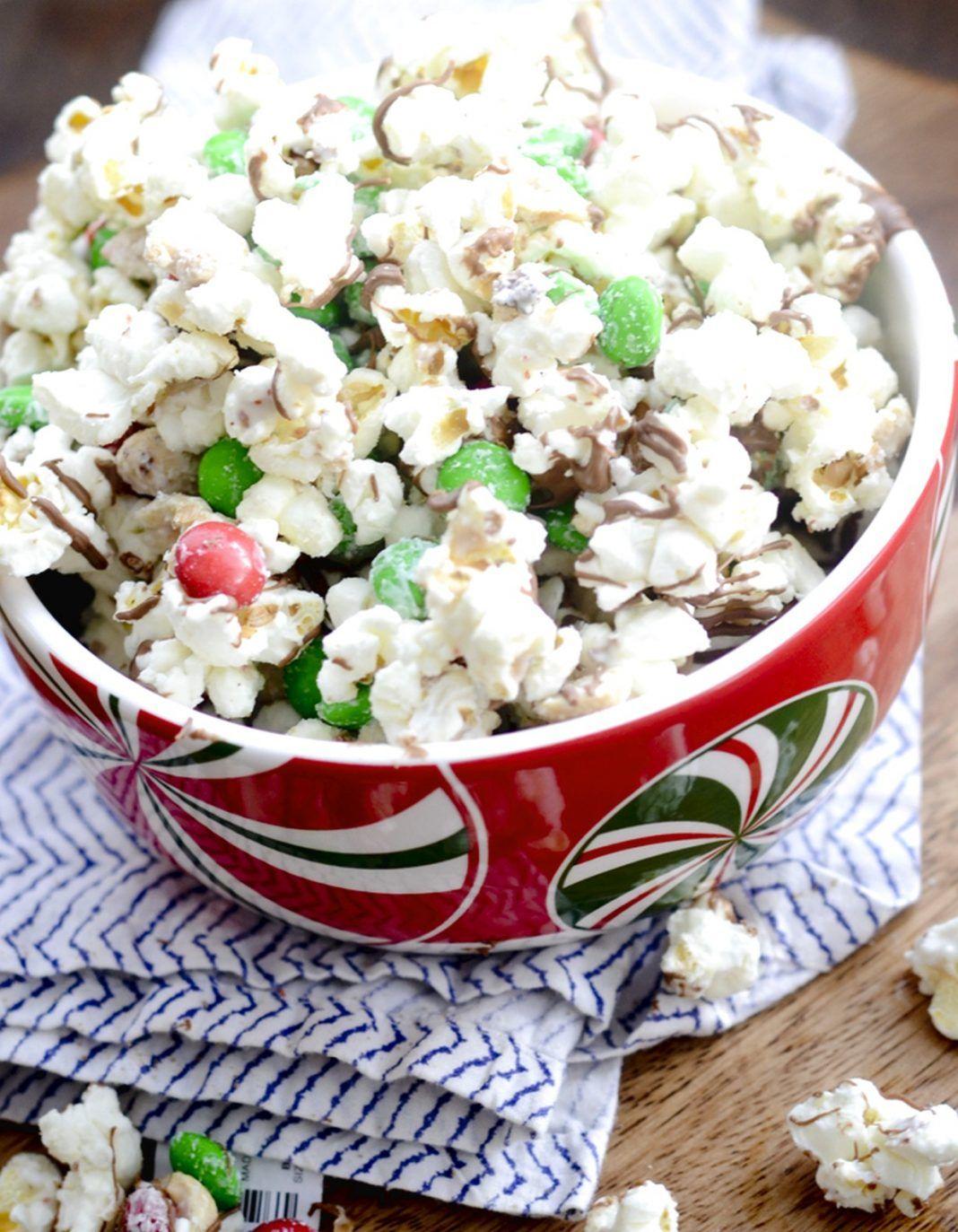 Christmas Popcorn Christmas popcorn, Christmas bark