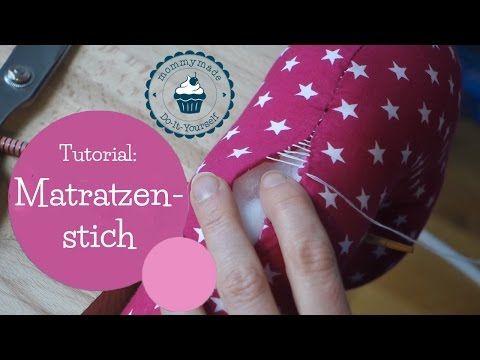 Zaubernaht / Matratzenstich / Leiterstich - HANDMADE Kultur