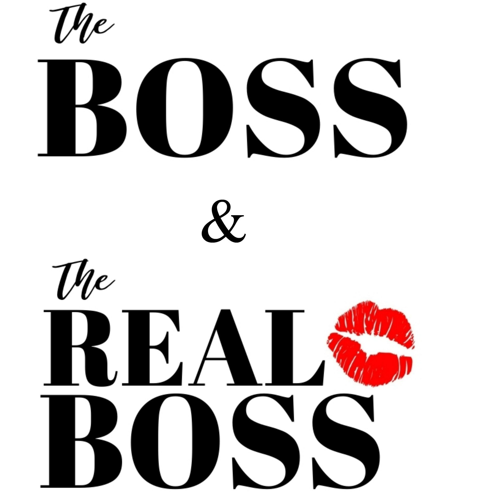 The Boss Svg The Real Boss Svg Funny Couple Svg The Boss Etsy In 2021 Boss Humor Badass Quotes Clip Art