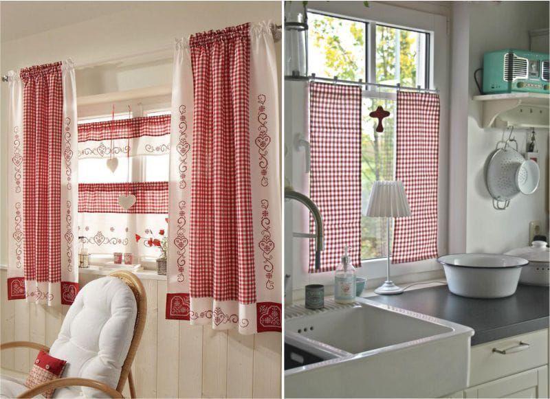 49 идей для пошива кухонных штор и занавесок - Ярмарка ...