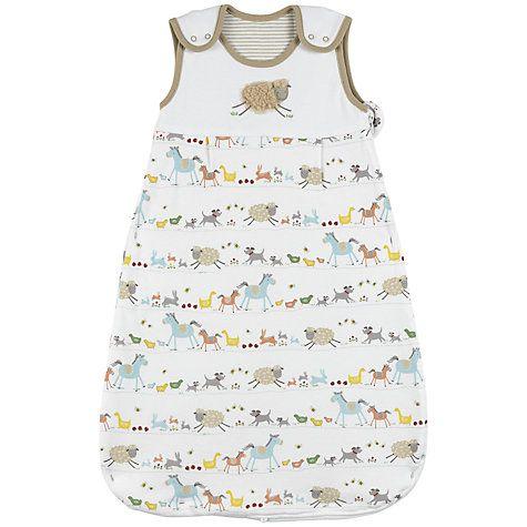 Buy John Lewis Baby Farmyard Sleeping Bag 2 5 Tog Multi Online At Johnlewis Com Baby Sleeping Bag Pattern Baby Sleeping Bag John Lewis Baby