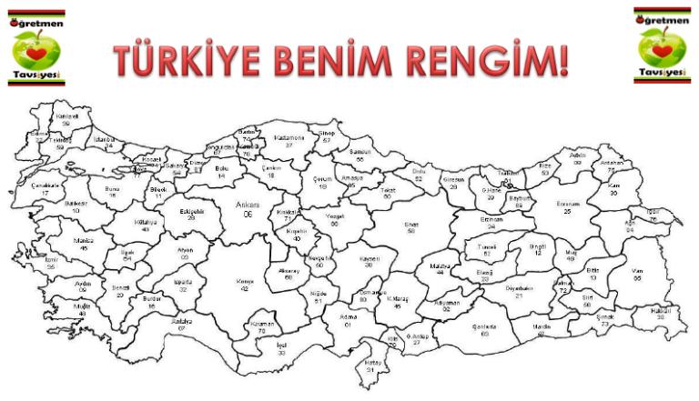 Turkiye Haritasi Oyunu Oyun Harita Boyama Kitaplari