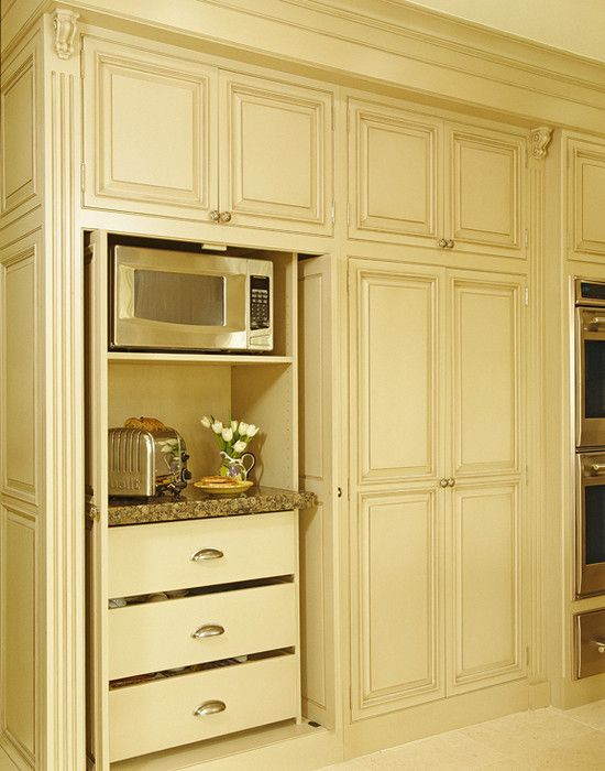Big Appliance Garage Designcoffee maker, toaster and