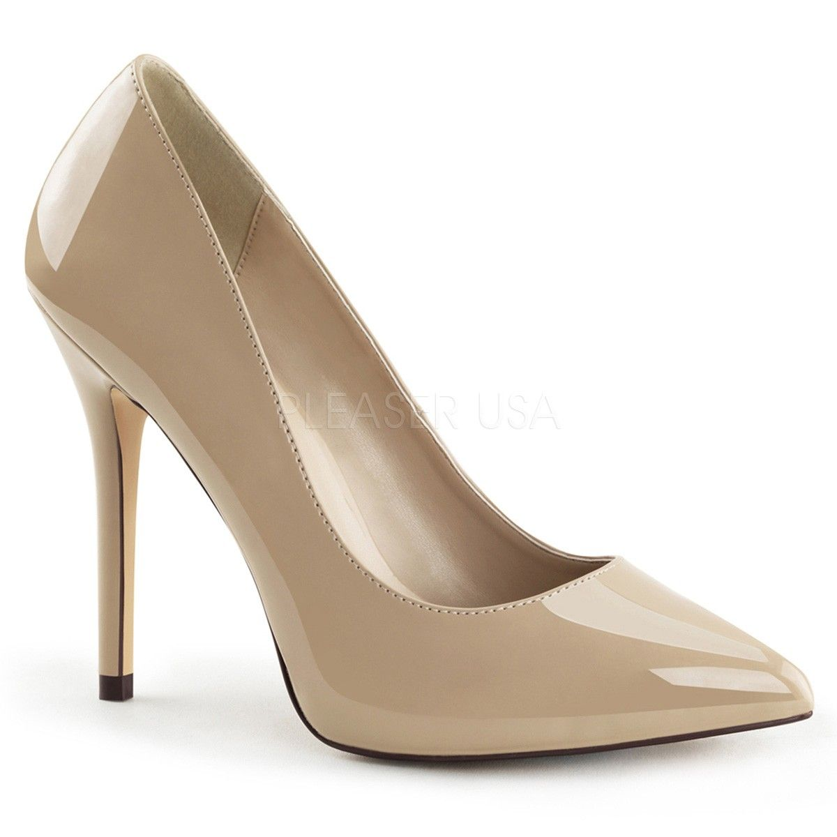 Camel Patent High Heel open toe court shoes 1LSwWkOtyq