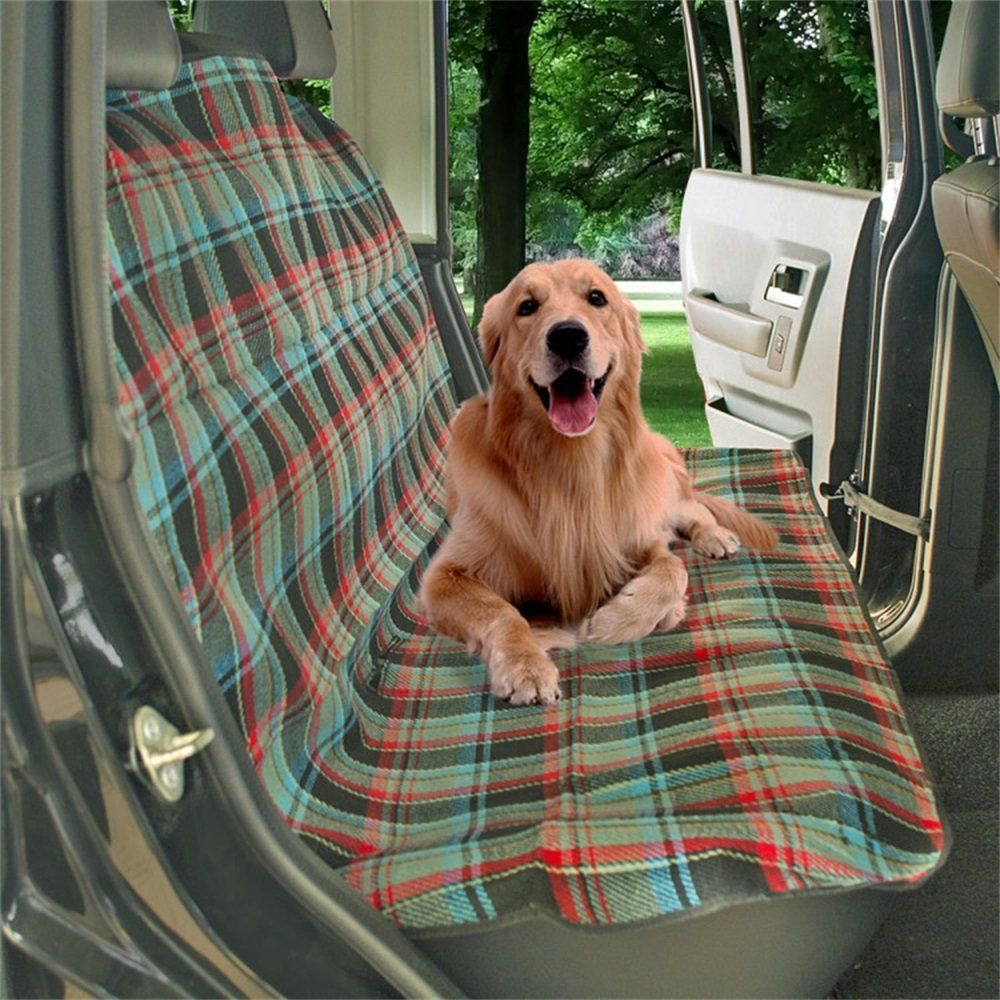 Uniflow In Dog Pet Bench Back Seat Cover Protector