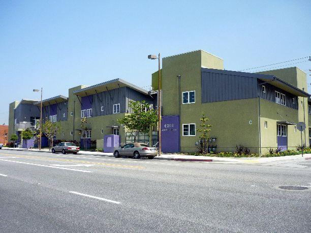 "2009 - ""Glendale Accessible Apartments"" (United Cerebral Palsy - Casa de la Amistad ) Glendale, CA - Built for Glendale Community Housing Corp. – By Alpha Construction, Inc - Superintendent: Phil Logan - Front View"