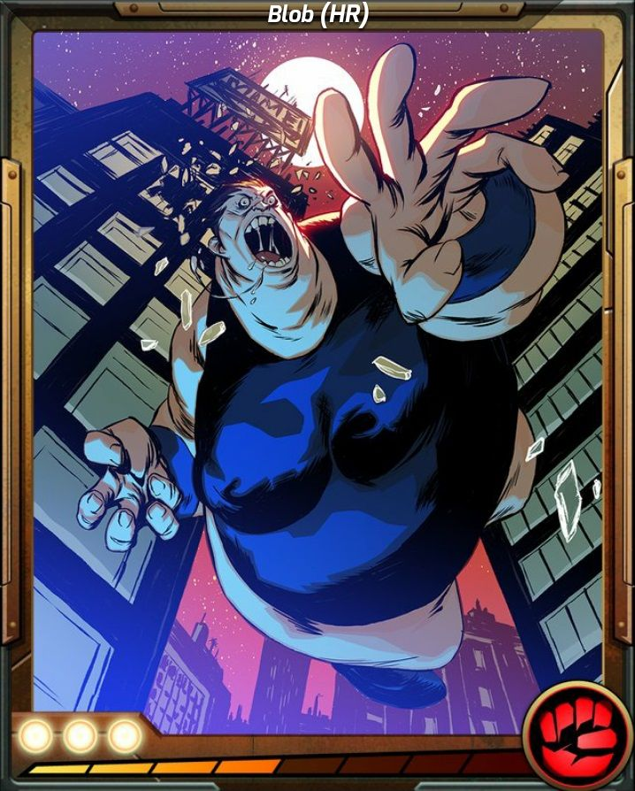 The Blob X Men Battle Of The Atom Mobile Game Comic Villains X Men Anime