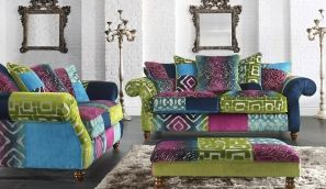 Multi Coloured Sofas Make Me Drool Fabric Sofa Sofa Shop Sofa