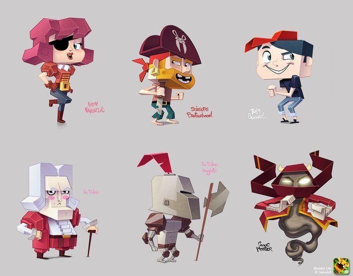Design A Cartoon Character Game : Cartoon characters concept art szukaj w google d toon