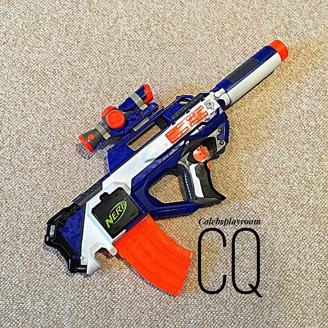 Amazon.com: Hasbro Nerf N-Strike Elite XD Rapidstrike CS-18: Toys & Games