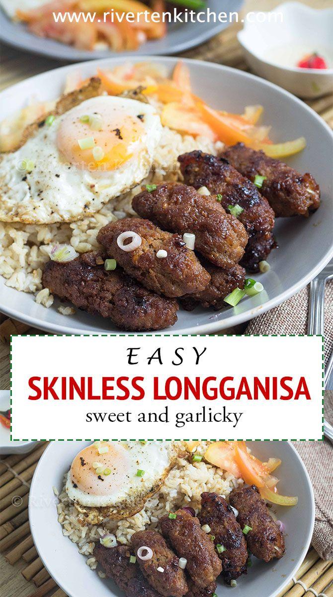 Photo of Easy Skinless Longganisa