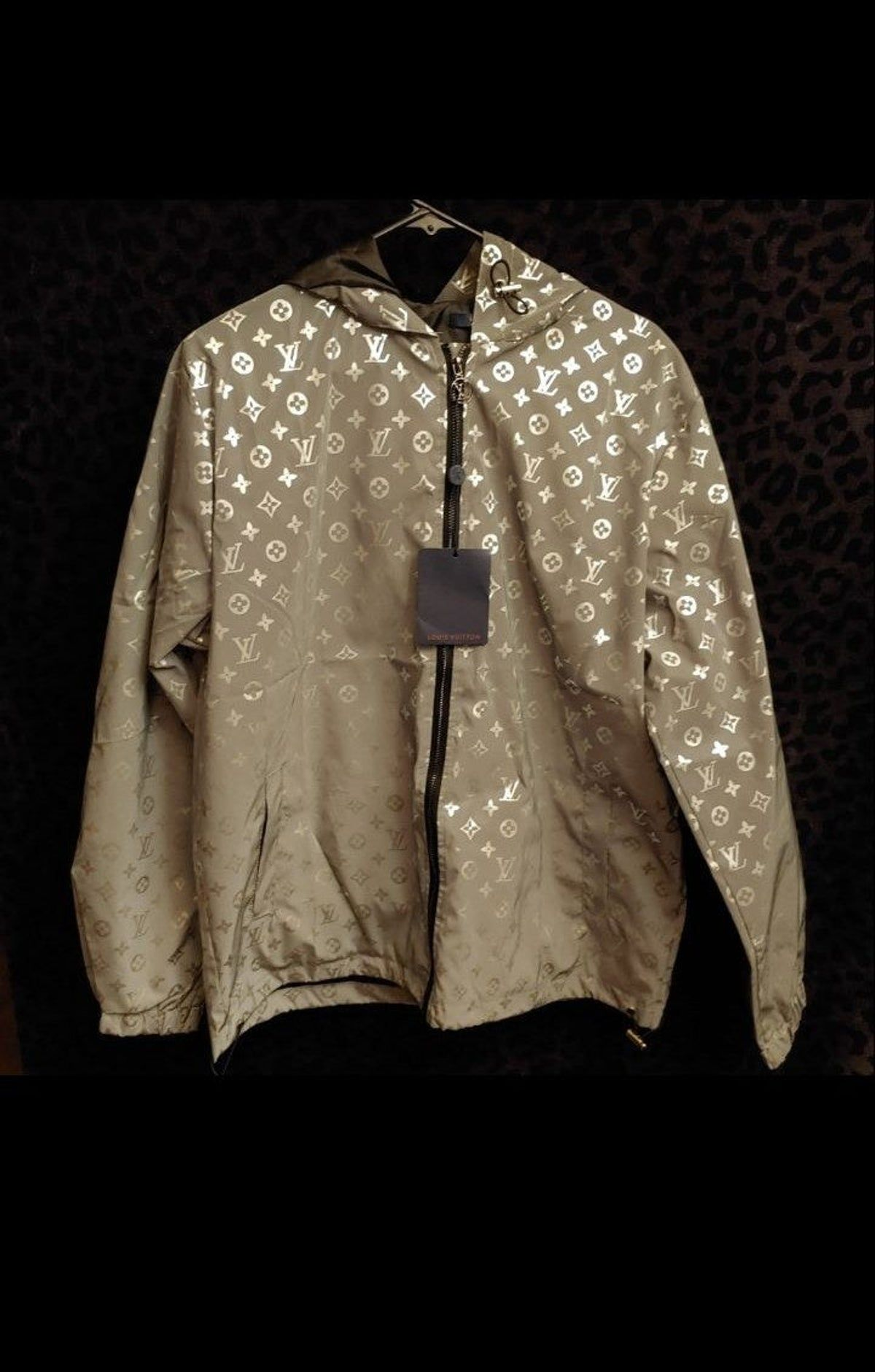 L reflective jacket streetwear fashion women tomboy