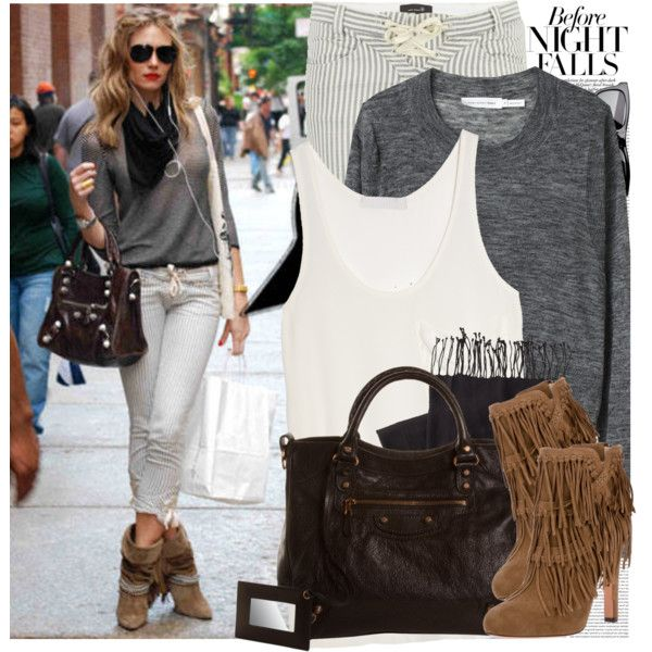 """""""R.547-Street style: New York"""" by rebecca-costanza on Polyvore"""