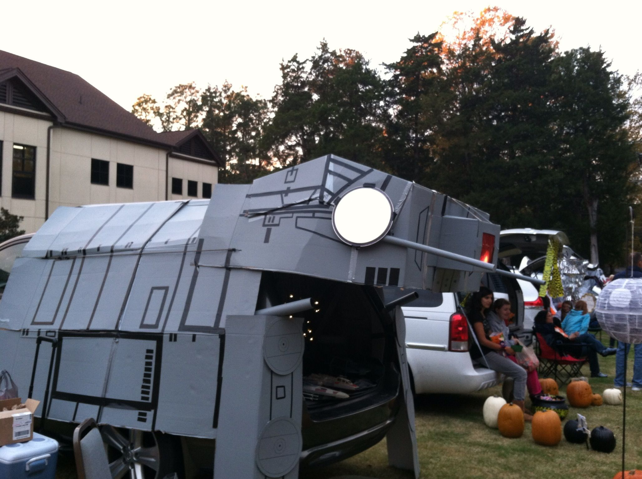 Star Wars At At For Trunk Or Treat Halloween Trunk Or
