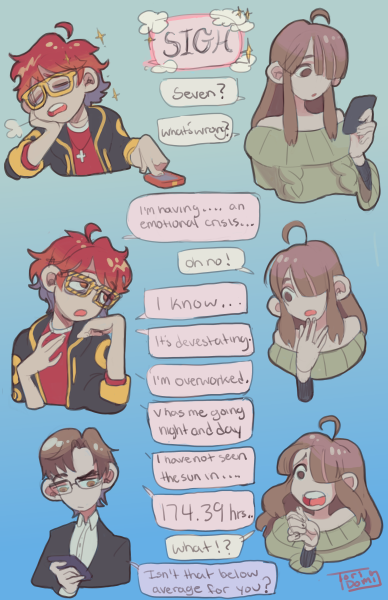 Anime dating Sims för telefon