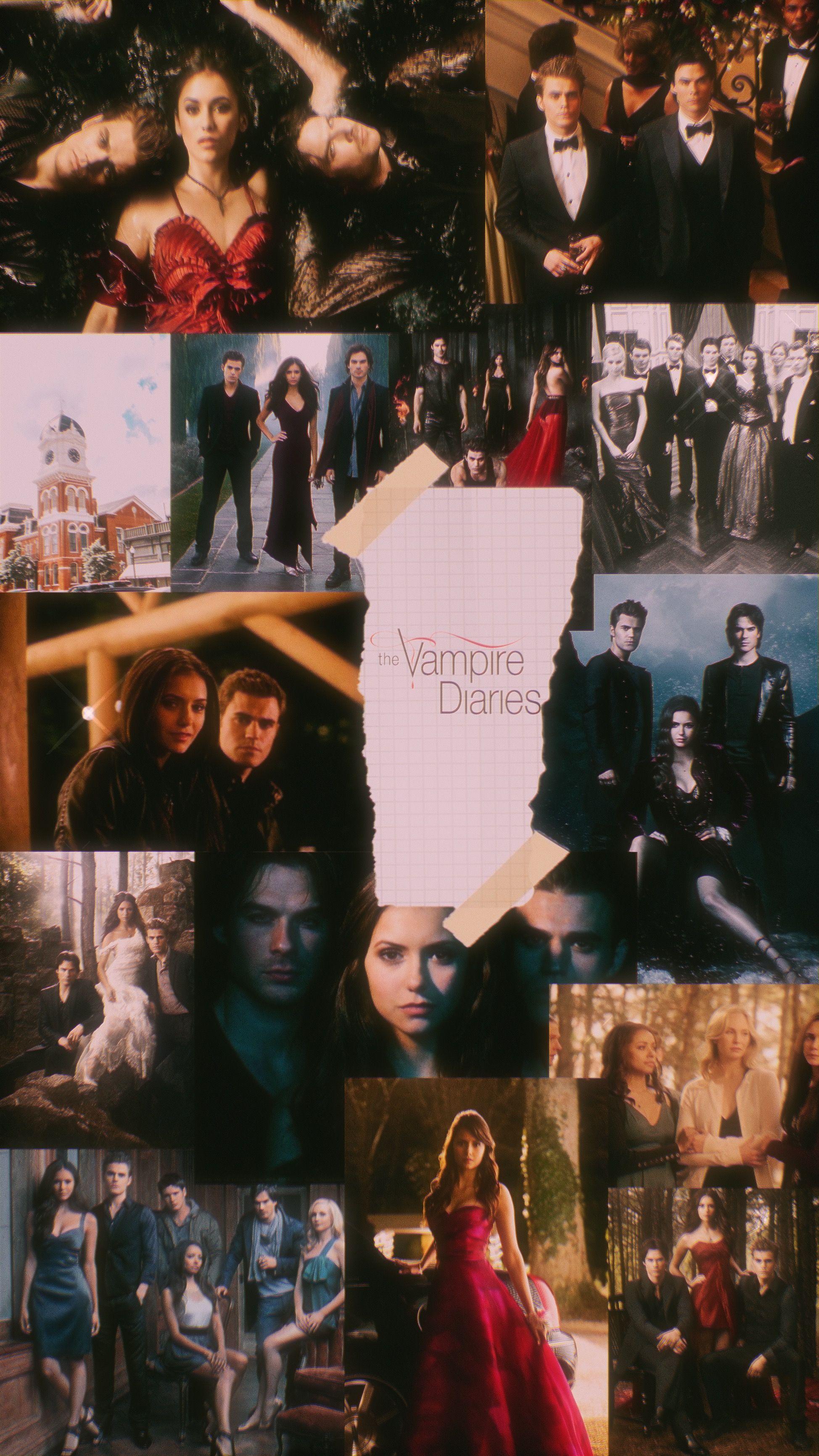 The Vampire Diaries Vampire Diaries Wallpaper Vampire Diaries Vampire Diaries Poster