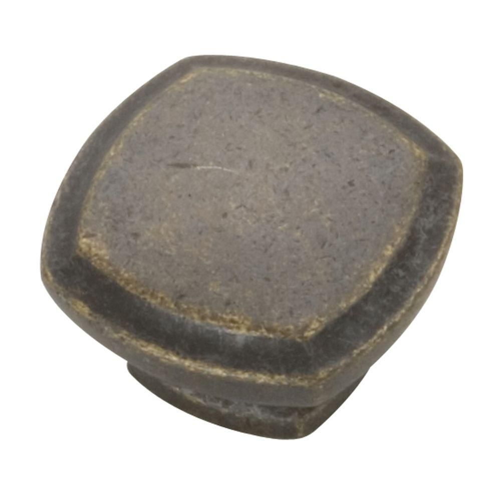 Hickory Hardware 1-1/4 in. Windover Antique Cabinet Knob - P3181-WOA - The Home Depot