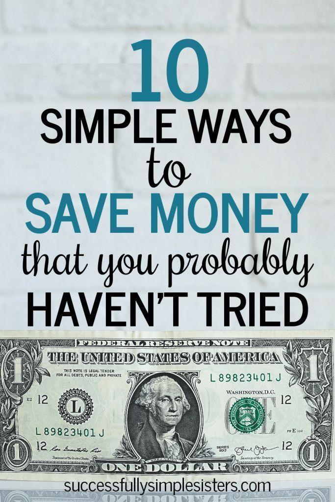12 einfache Möglichkeiten, um Geld zu sparen, das Sie wahrscheinlich noch nicht ausprobiert haben   – Savings Ideas