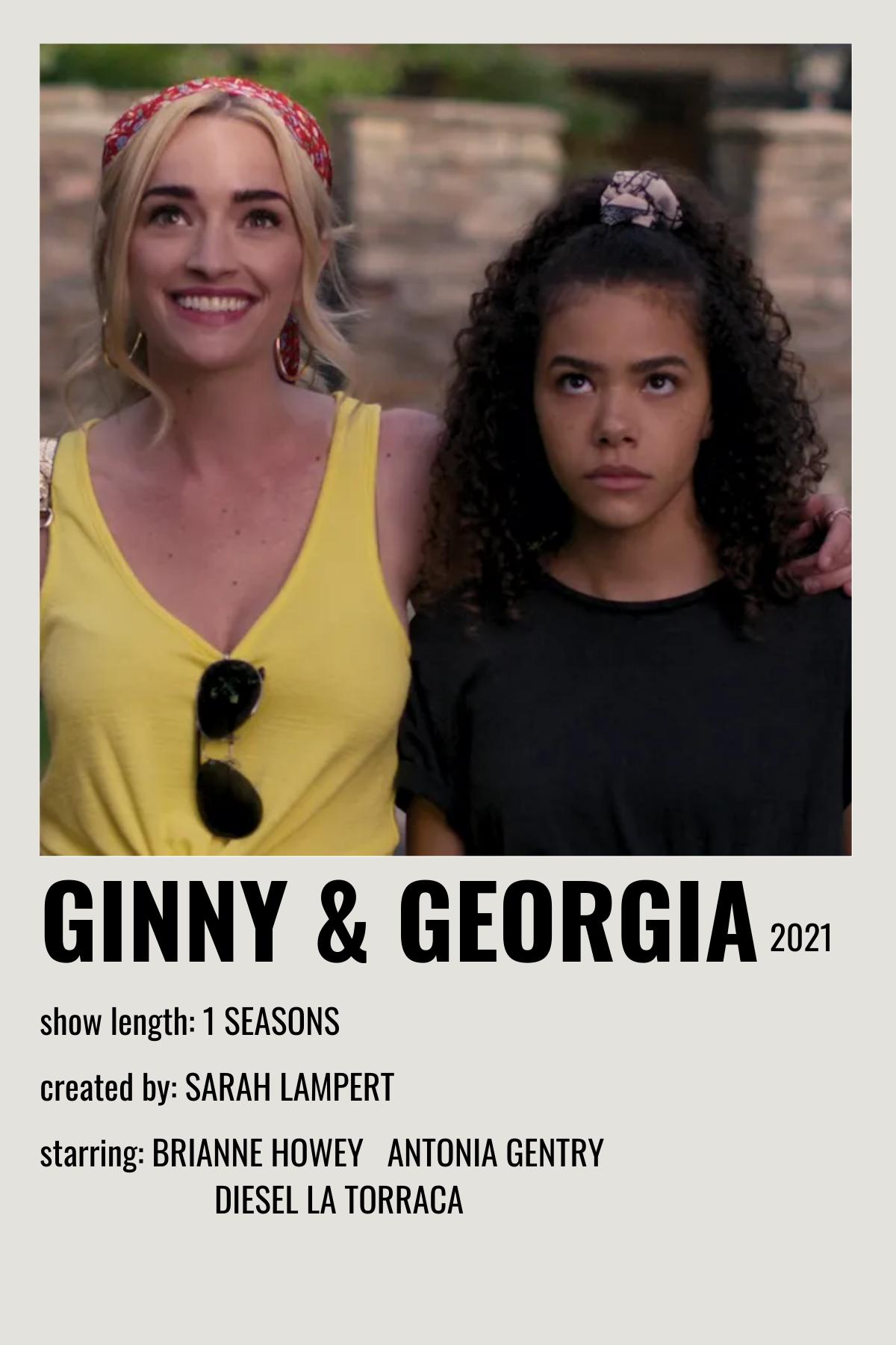 ginny and georgia movie poster