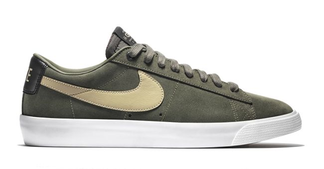 Nike Skateboarding team member Grant Taylor now has a signature sneaker,  the Nike SB Blazer Low GT Pro. The kicks are a blend of the Blazer SB and  Bruin SB