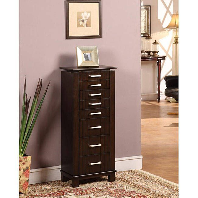 Charging Mahogany 7Drawer Jewelry Armoire Old jewelry Pinterest