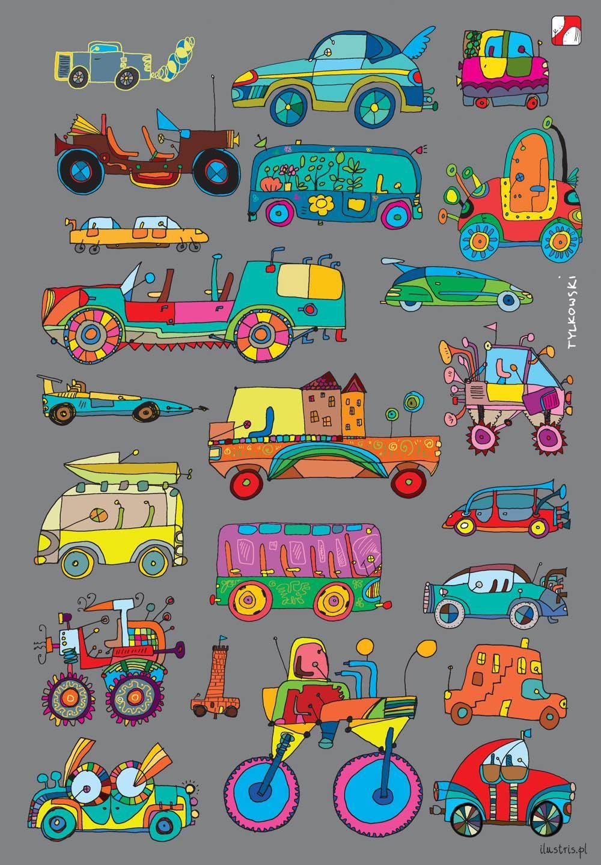 Zeszyty A5, 32 kartki - Samochody | Sold Out | Comarch e-Sklep