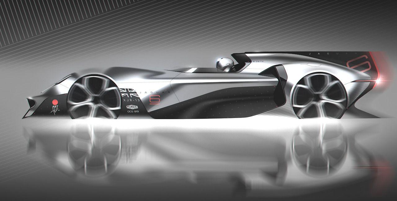 Jaguar XJR-13 Concept | Truck design, Jaguar, Car design ...