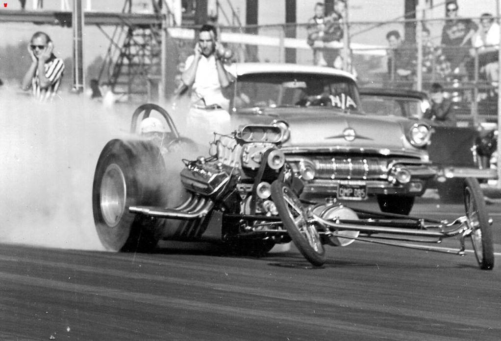 Vintage drag racing dragster nostalgi racing pinterest for Garage prudhomme 16