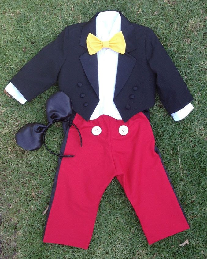 93d066a5955e Mickey Mouse suit by CNLChildrensApparel on Etsy https://www.etsy.com