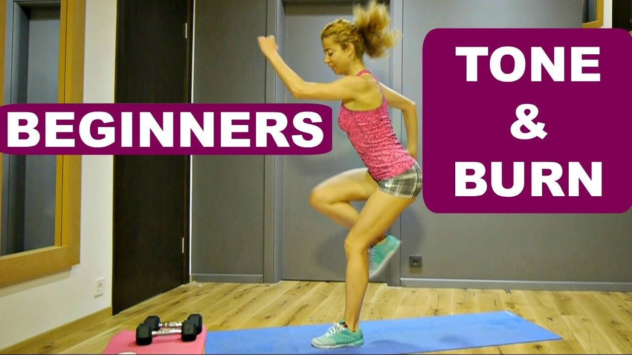 Beginner program: workout 1: cardio and total body strength exercises