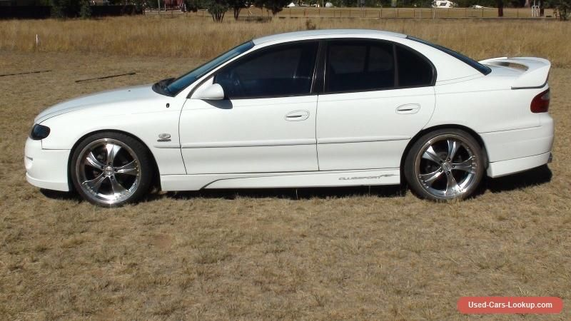 vx commodore with clubsport bodykit #holden #executive