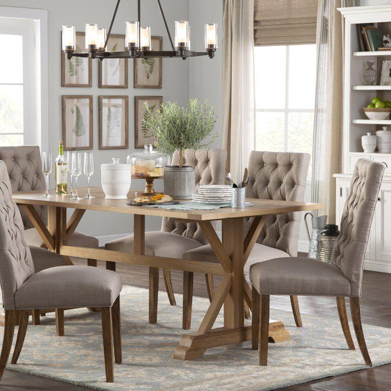 glenbrook solid wood dining table in 2019 dining room ideas rh pinterest com