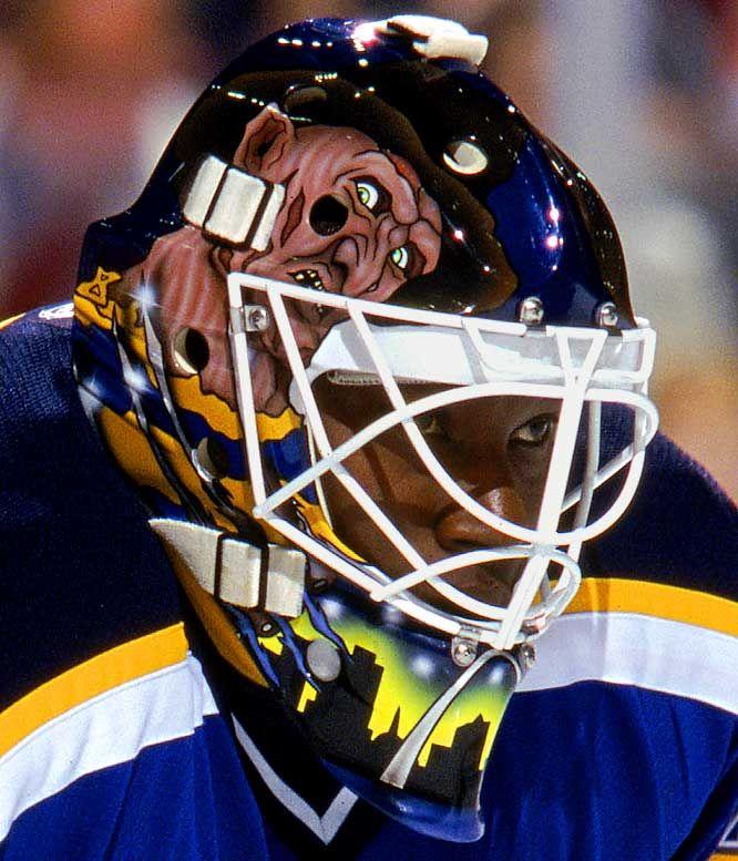 Fred Brathwaite's St. Louis Blues Goalie Mask