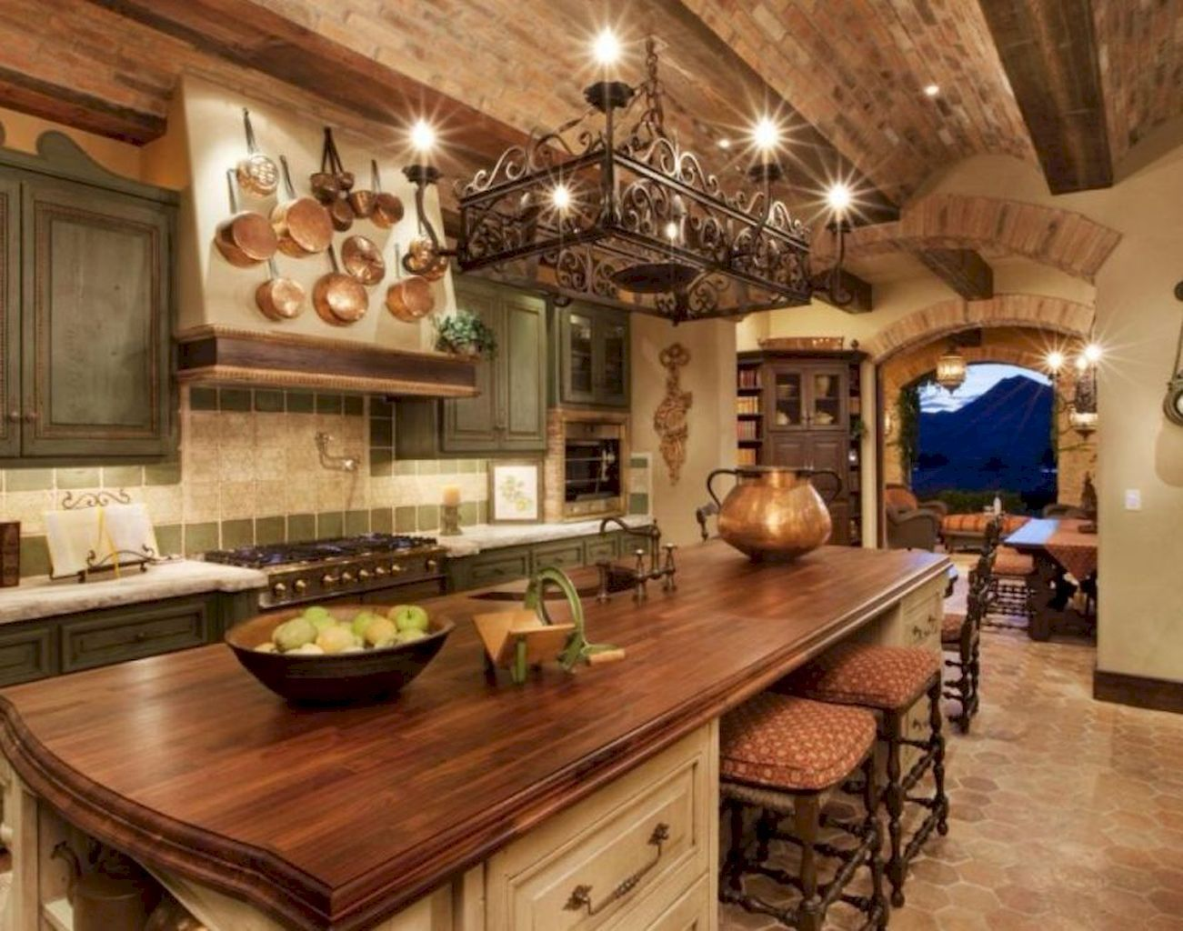 40 rustic italian decor ideas for farmhouse style design home rh pinterest com