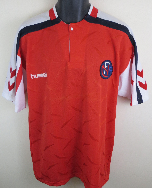 e3f8ce2b5d4 Classic Norway shirt by Hummel Retro Football Shirts, Adidas Shorts,  Football Photos, Retro