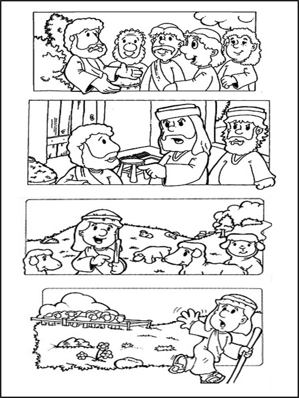 La oveja perdida | Recursos Cristianos para niños imagenes ...