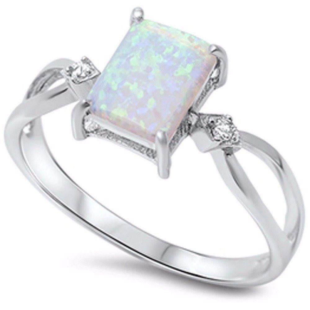 Rings Frosted Quad Ablaze Opal Ring Engagement Rings Opal Silver Opal Ring Sterling Silver Opal Ring