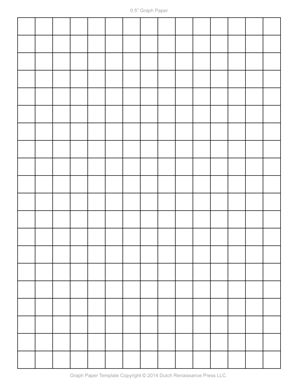 Inch Printable Graph Paper Letter Pdf  Graph Paper